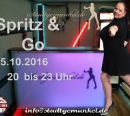 Spritz and Go Party mit Abby Titts