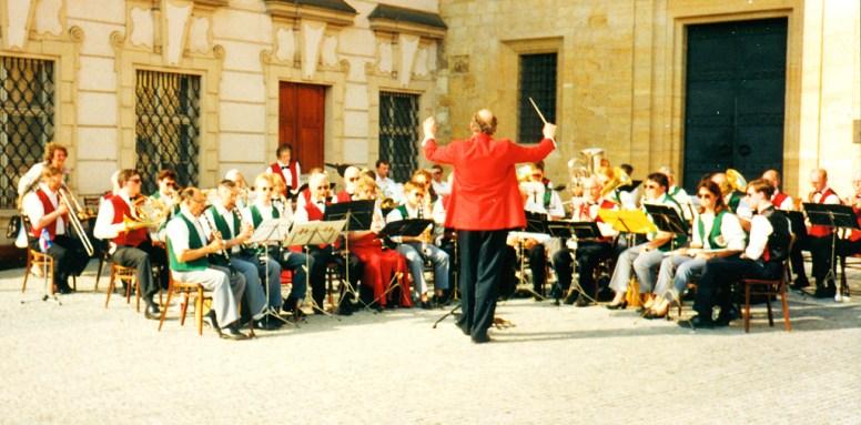 Konzert am Hradschinplatz