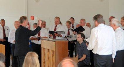 Unterstützung bei der Feier durch den Gesangverein Konkordia 1849 e.V. Heusenstamm