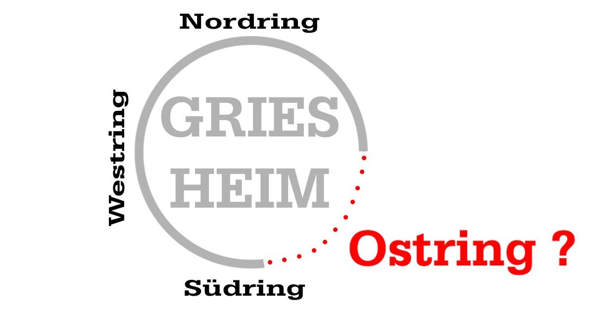 Nordring, Westring, Südring… OSTRING?