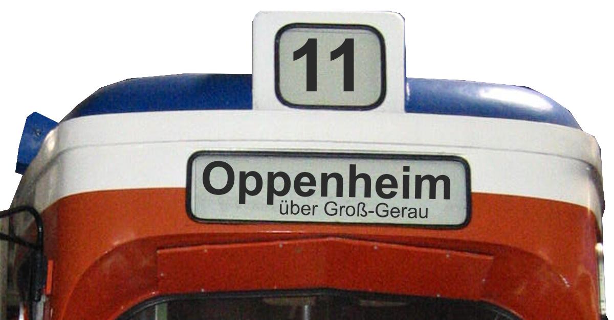 Auf Schienen über den Rhein