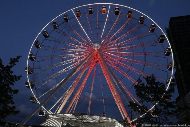 Hi-Sky, Night of Light in München 2020