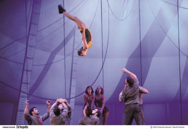 Winter-Tollwood Cirque Eloize Cirkopolis