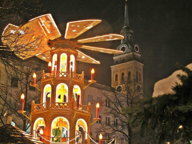 Christkindlmarkt München am Rindermarkt