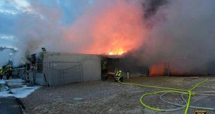 Brand Flüchtlingsheim München Freimann