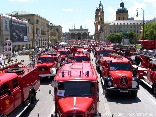 Oldtimer Parade 140 Jahre FFW