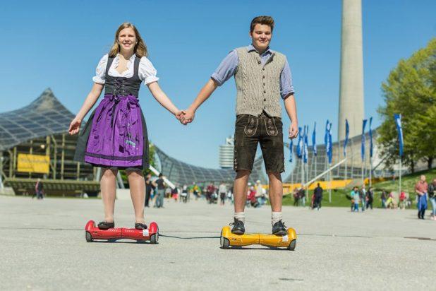 Hoverboard von eFuture - Aussteller auf der Made in Minga