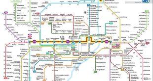 Stammstreckensperrung S-Bahn München Netzplan