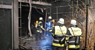 Feuer nach Brandstiftung im Bertolt-Brecht-Gymnasium in München Pasing Quelle Foto Feuerwehr München