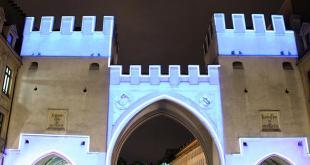 Nachtschwärmer Shoppingnacht München Karlstor Lightmapping