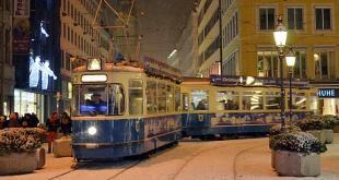 Christkindl Tram München Quelle Foto: SWM/MVG