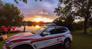 Großeinsatz Wasserwacht München Fasaneriesee
