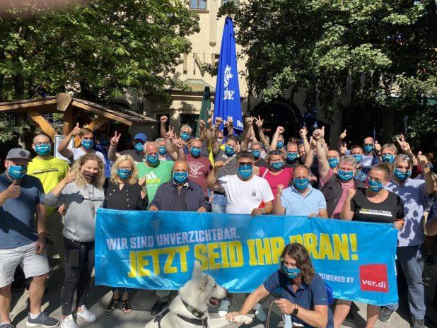 Warnstreik Verdi München
