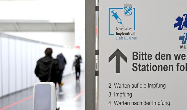 Impfzentrum Messe München