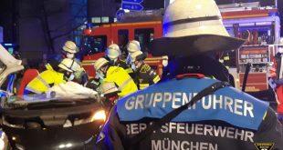 Schwerer Verkehrsunfall in der Poccistraße