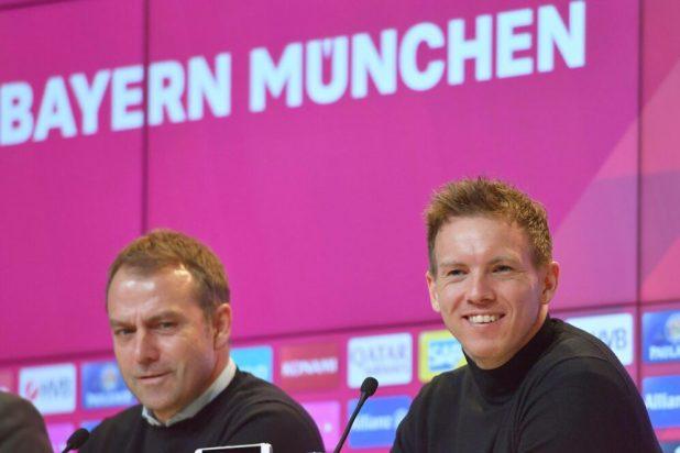 Hansi Flick und sein Nachfolger Julian Nagelsmann