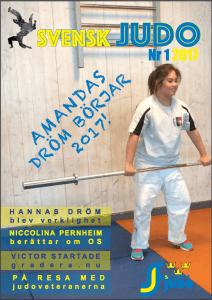 Tidningen Svensk judo nr 1
