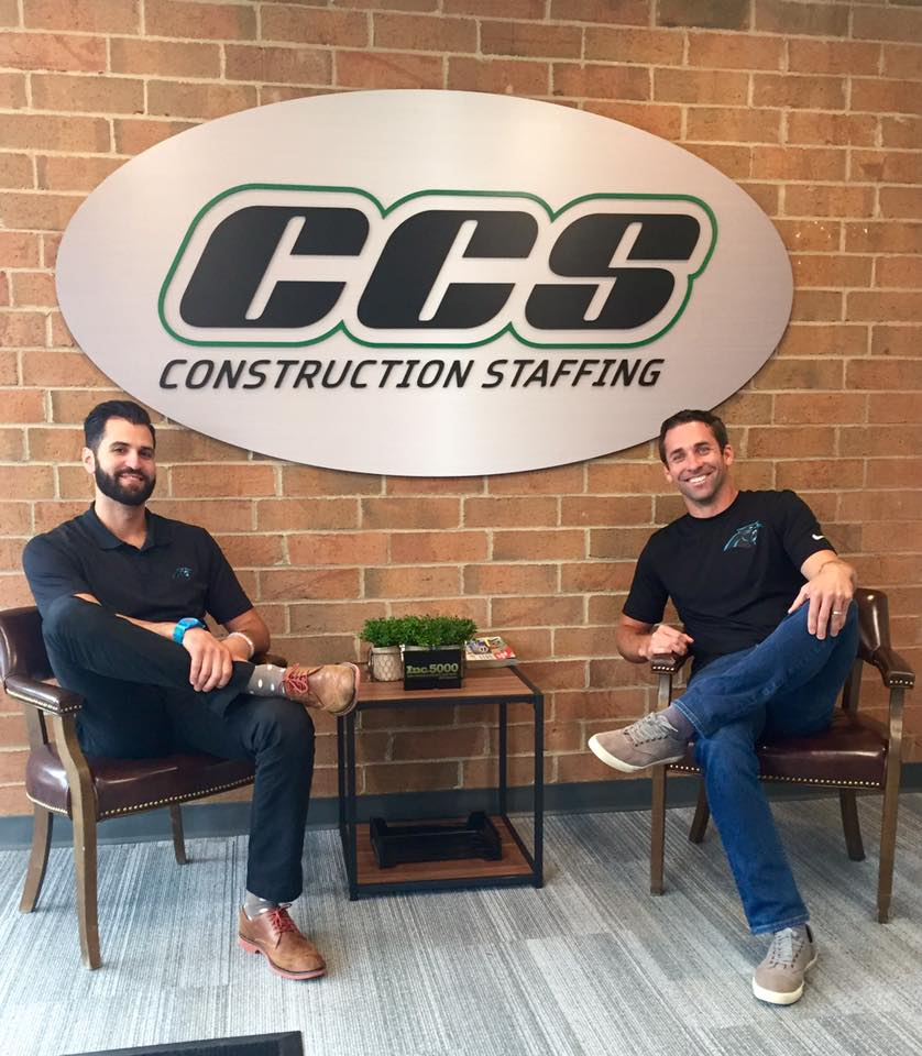 CCS Construction Staffing listed as one of the Largest Staffing