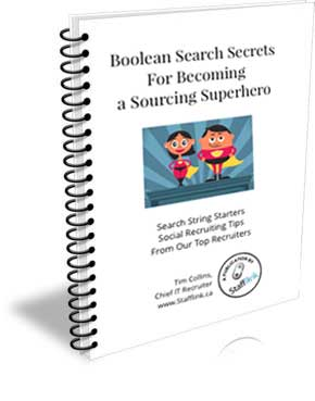 Stafflink Boolean Search Secrets For Becoming a Sourcing Superhero Cover Art