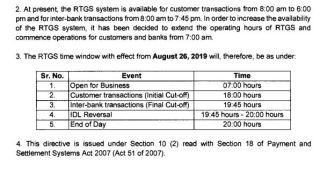 rtgs-increased-timing