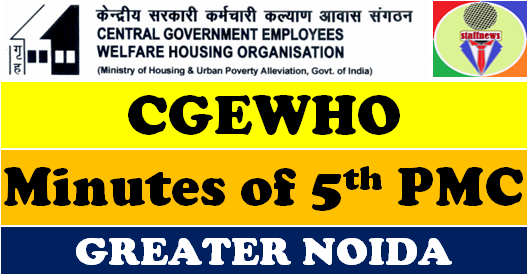CGEWHO Greater Noida: Latest updates – Fifth PMC Meeting