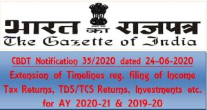 filing-of-income-tax-returns-for-ay-2020-21-cbdt-notification-35-2020