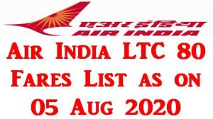 air-india-ltc-80-fares-list-as-on-05-08-2020