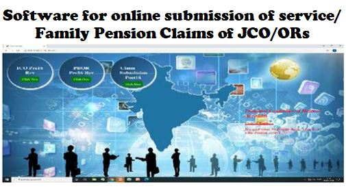 Online submission of pension claims – owing to ongoing COVID-19 restrictions and quarantine protocols: PCDA Pension Circular-637