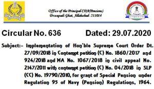 special-pension-under-regulation-95-of-navy-pension-regulations-1964
