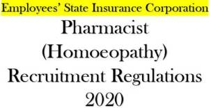 pharmacist-homoeopathy-level-5-in-the-pay-matrix-recruitment-regulations-2020