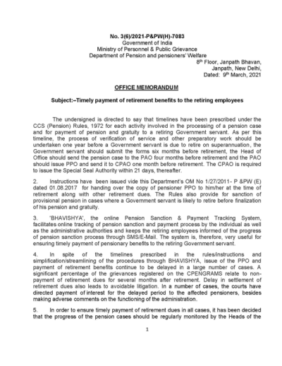 timely-payment-of-retirement-benefits-to-the-retiring-employees