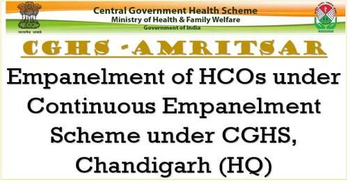 Dr Adarsh Heart and Super Speciality Hospital: Empanelment of HCOs under CGHS Amritsar