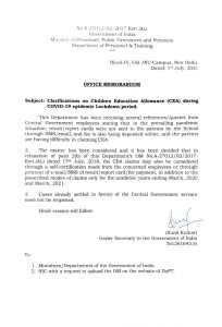 clarifications-on-children-education-allowance-cea-during-lockdown-period-dopt