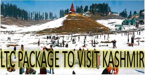LTC Package to visit Kashmir as special dispensation scheme