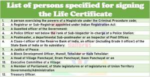 list-of-persons-specified-for-signing-the-life-certificate