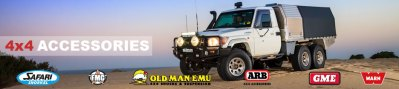 4wd Accessory banner