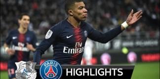 Amiens Vs PSG 0-3 Highlights - 2019