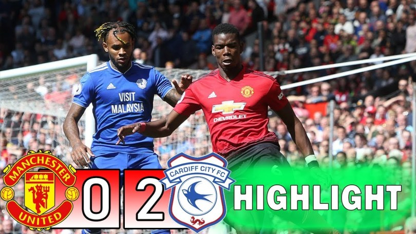 manchester united vs cardiff 0 2