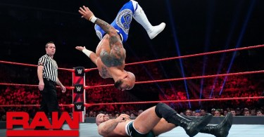 ricochet vs cesaro raw may 27 20