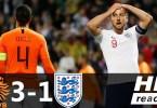 Netherlands Vs England 1 1 3 1 Aet