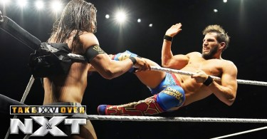 johnny gargano clashes with adam