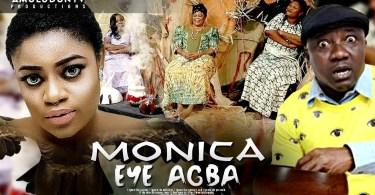 monica eye agba yoruba comedy mo