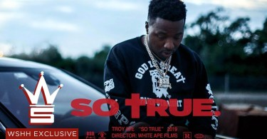 troy ave so true official music