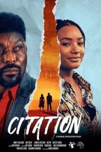Citation (2020) Full Movie