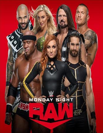 WWE Monday Night Raw 23rd August 2021