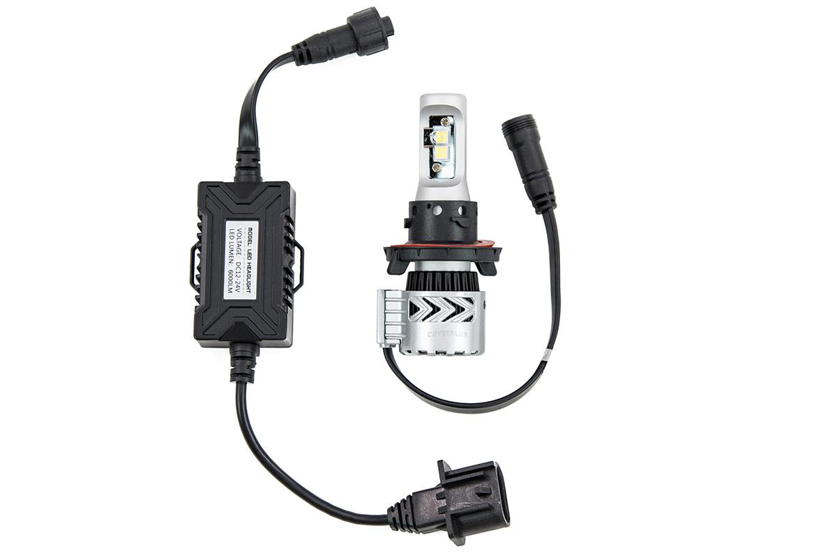 F250 Amp F350 Crystalux Xhp50 Led Headlight Bulb Upgrade Kit High Amp Low Beam 4x4tl