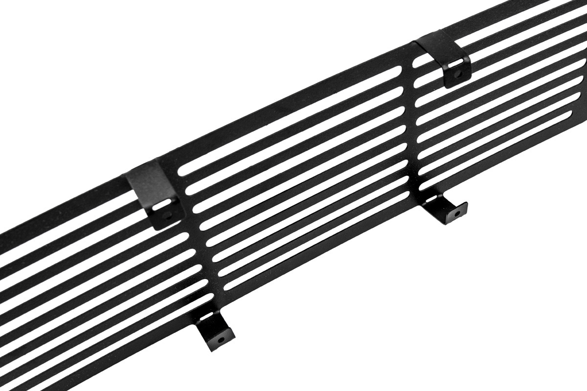 F150 Putco Stainless Steel Black Bar Lower