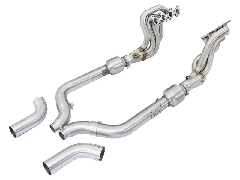 Mustang Gt Afe Power Twisted Steel Long Tube Header Amp Connection Pipes