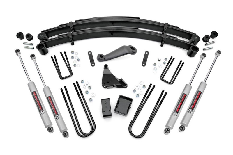 F250 4wd Rough Country 6 Suspension Lift Kit