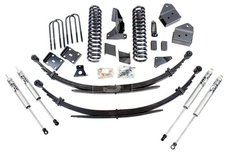 F250 F350 Super Duty 4wd Bds 8 Suspension